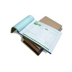 Order Bill Book Printing Services