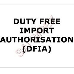 Order Duty Free Import Authorization (DFIA)