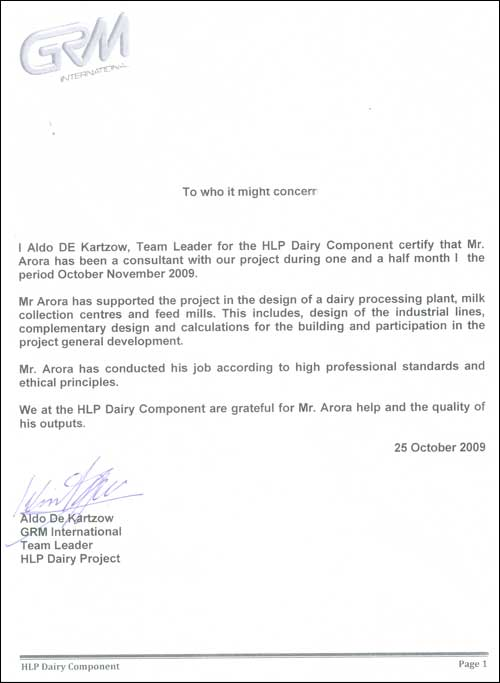 Order Dairy Consultancy Services