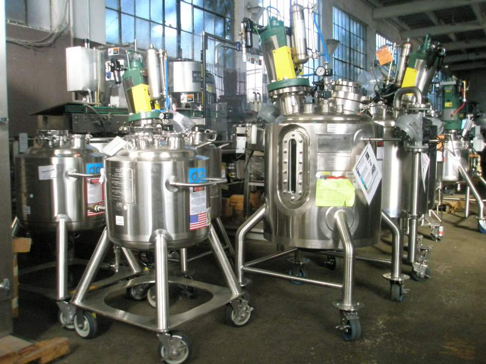 Order Servicing of pharmaceutical reactors