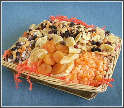 Order Packaging services for dried fruit
