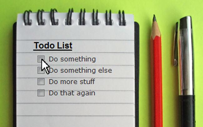 Order Task-Based Schedule