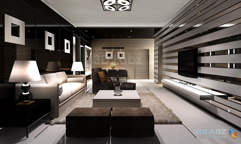 3d Interior Design JH Designs - ^