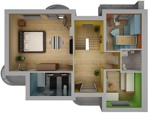 3 d floor plans order at bangalore india price
