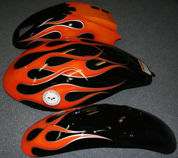 Order Bike Flames