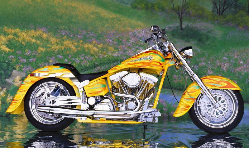 Order Motorcycle Custom Chrome