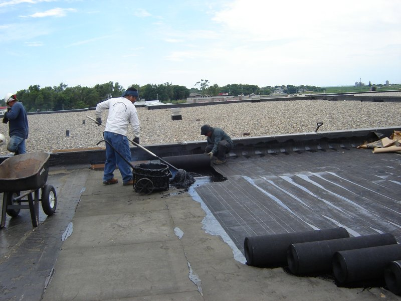 ROOF TERRACE : CHEMICAL COATING METHOD
