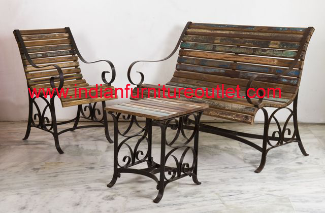 Order Reclaimed wooden furniture