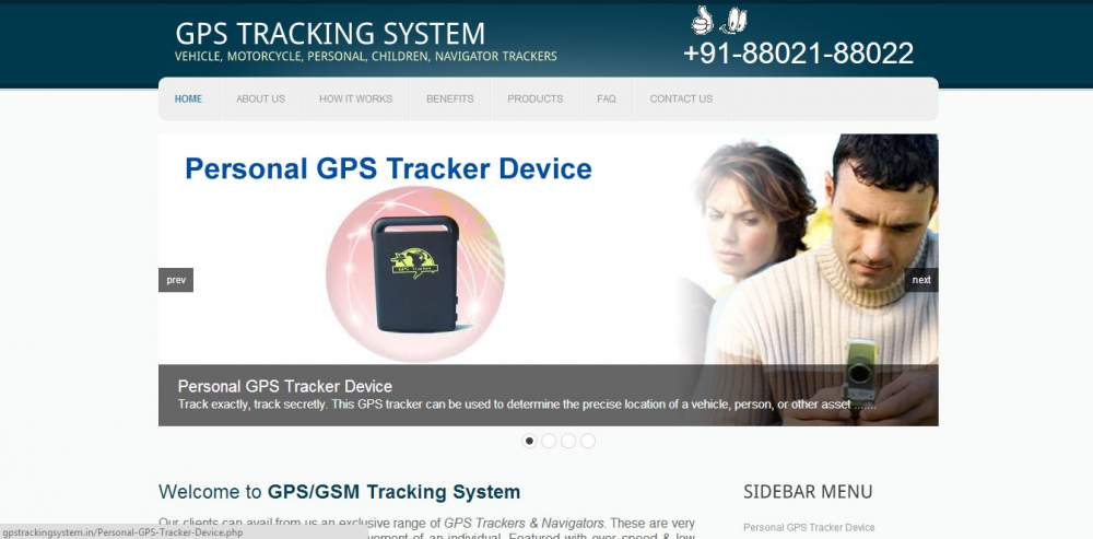 Order GPS Tracking System, GPRS Tracking System