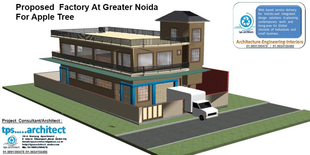 Order Architectural Planning and design For Factory & Industrial Building