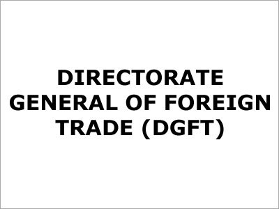 Order DGFT Related Matters