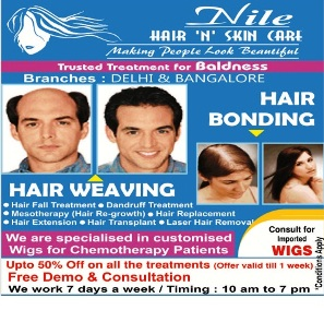 Order Non Surgical Hair Replacement in Bangalore