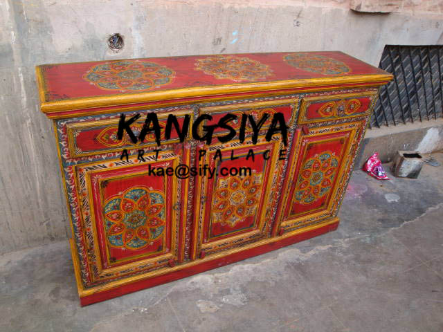 Order Wooden hand painted side board