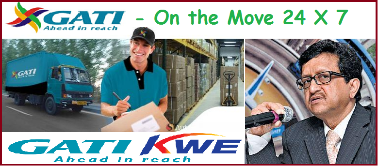 Order GATI-KWE Premium Services