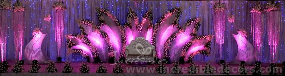 Order Incredibles event management and wedding decors
