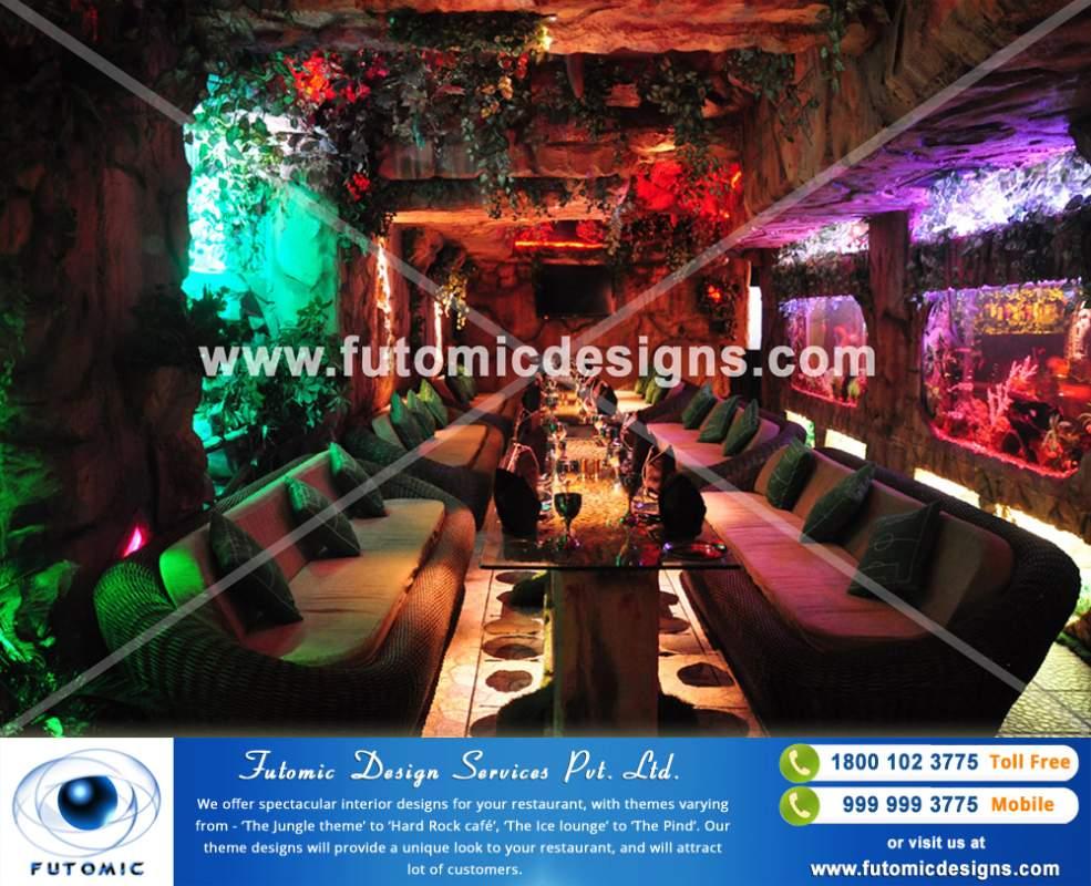 Order Restaurant Interior Designing