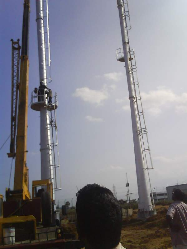 Order Tritherm Industrial chimney fabrication co. in india