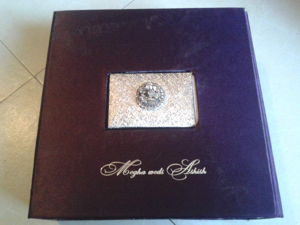 Order Wedding Invitation Cards & Boxes combined