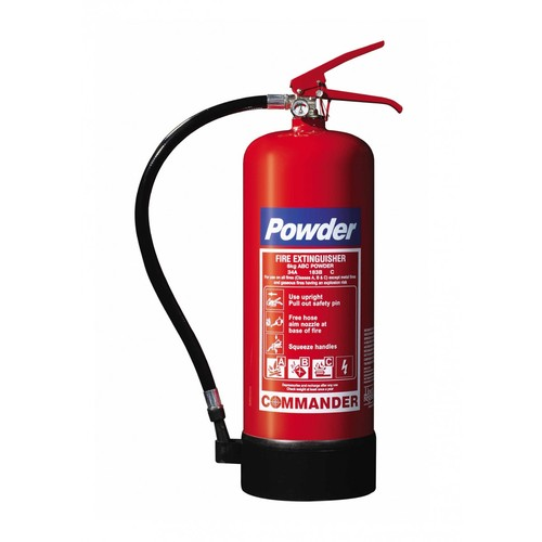 Order Refilling of fire extinguishers