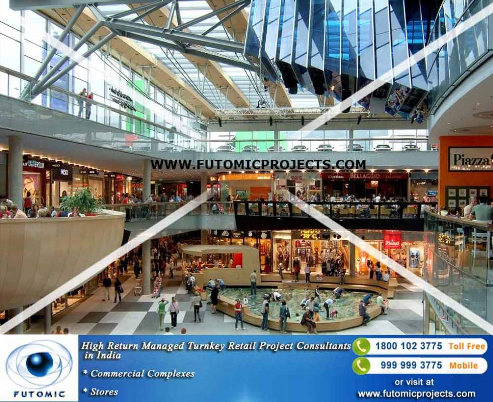 Order High Return Managed Turnkey Retail Project Consultants in India