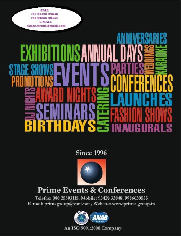 Order Prime Events & Conferences