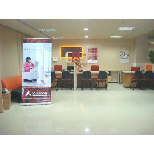 Interior Office Design Of Axis Bank