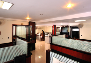 Order Business centre in a hotel