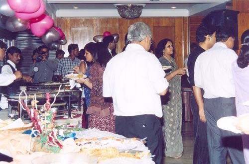 Order Food catering services
