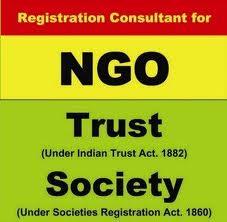 Order NGO, Society, Trust Registrations