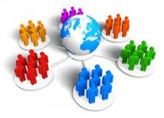 Services in marketing with use of databases