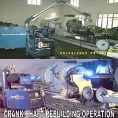 Rebuilding Of Crankshaft & Engine Blocks