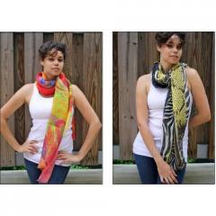 Digital Print Scarves And Stoles