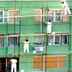 Commercial paint work