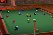 Hotel billiards room