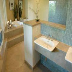 Luxurious bathroom interiors