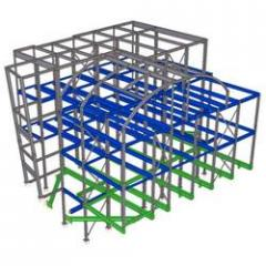 Structural Steel Detailing by Auto Cad