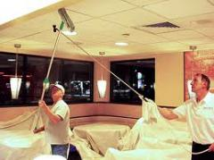 House cleaning - Ceiling cleaning