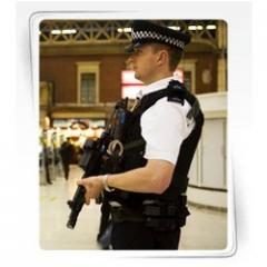 Security gunman