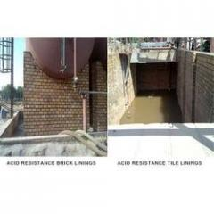 Acid Resistant Brick and Tiles Lining Services