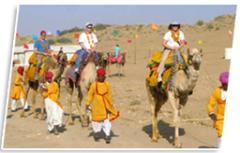 Tourism - Rajasthan Camel Safari