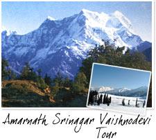 Tourism and rest - Amarnath Srinagar Vaishnodevi