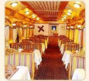 Tourism and rest - Luxury train in Rajasthan
