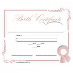 Birth certificate Attestation
