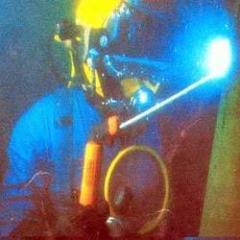 Underwater welding services