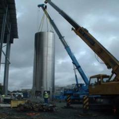 Heavy Capacity Crane Hiring Services