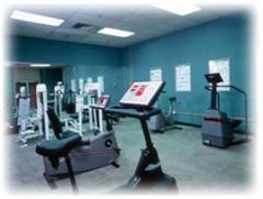Hotel fitness centre