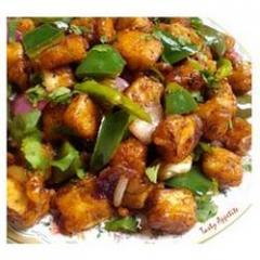 Chilli Paneer Dry (Chineese)