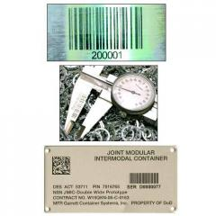 Metal Asset Tags & Labels