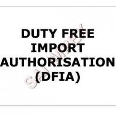Duty Free Import Authorization (DFIA)
