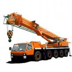 All Terrain Mobile Telescopic Cranes